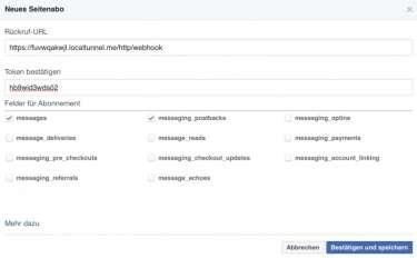 Facebook öffentliche Einrichtung