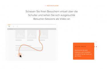 Beispiel Videoansicht, Tool eTracker