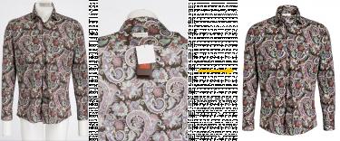 autoRetouch Workflow für Ghost Mannequin Effect: KI-gesteuerte Segmentierung und manuelles Zusammenführen eines Front- und eines Innenbildes