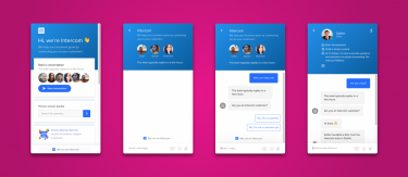 Smart UI solutions in Intercom's chatbot framework