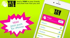 BRANDNEU: YEIH! App für iOS und Android!