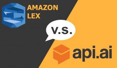 Developing chatbots: Comparing Amazon Lex and Api ai